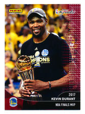 2016-17 PANINI INSTANT WARRIORS KEVIN DURANT 2017 NBA FINALS MVP BURGUNDY #6/199