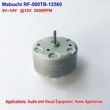 MABUCHI RF-500TB-12560 Micro DC Motor DC 5V-12V 5500RPM 32mm Diameter Mini Motor