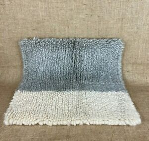 """West Elm Chunky Wool 20"""" x 20"""" Pillow Cover with Button Closure"""