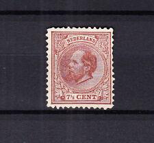 Nederland 20 Willem III 1872 ongebruikt zonder gom, pracht exemplaar