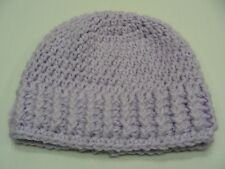 LIGHT PURPLE - HAND KNITTED - TODDLER SIZE STOCKING CAP BEANIE HAT!
