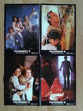 POLTERGEIST II 1986 - Craig T. Nelson  4  German jumbo lobby cards 12x18 inch