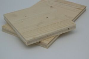 19 mm Dreischichtplatte 3-Schichtplatte Fichte 3-Schicht-Platte 3S-Platte