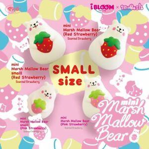 IBloom Squishy Mini Marmo Marshmallow Strawberry Bear Squishy NEW