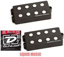 Seymour Duncan SMB-4A 4 String Music Man Alnico Pickup Set ( FREE BASS STRINGS )