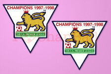 England Premier League Champion 97-98 Sleeve Gold Patch / Badge Arsenal Jersey