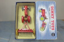 DINKY TOYS GIFT SET MODEL No.27AK  MASSEY HARRIS TRACTOR & HAY RAKE  VN MIB