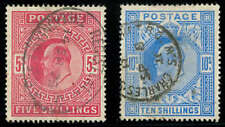 momen: Great Britain Stamps #140-141 Used Vf