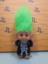 "HALLOWEEN SKELETON - 3"" O.T.C. Troll Doll - NEW STORE STOCK"