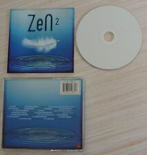 RARE CD ALBUM ZEN 2 COMPILATION 17 TITRES COLDPLAY MOBY MASSIVE ATTACK