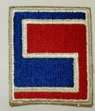 Patch US 69th infantry div. Le Havre - Belgique  WWII - 100 % ORIGINAL