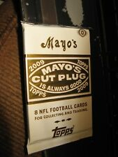 2009 topps mayo guaranteed auto or jersey card 1 hit football nfl