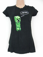 Minecraft Womens T-Shirt Creepers Gonna Creep Small