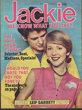 Jackie Magazine 29 March 1980 No. 847      2 Tone      Toyah      Leif Garrett