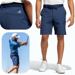 Adidas Ulimate 365 Short Herren Golf Business Hose Chino Bermuda Capri navy blau