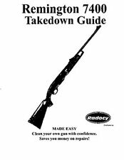 Remington Models 742, 7400, 4   Takedown Disassembly Assembly Guide Radocy  NEW