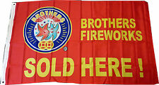 Brothers Pyrotechnics 3' x 5' Poly Flag