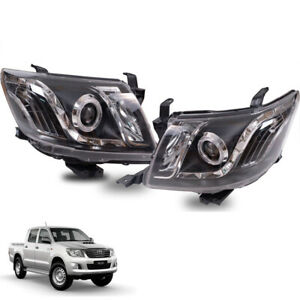 Fit Toyota Hilux Sr Vigo Kun Head Lamp light Led Ute Pickup For 2011-14