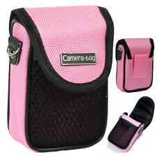 Lupo Compact Camera Case - Universal Shockproof Soft Bag Pouch With Strap Belt