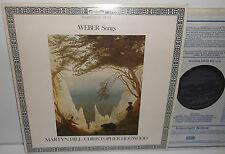 DSLO 523 Weber Songs Martyn Hill Christopher Hogwood