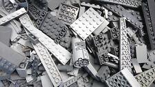 Lego colección 500 gramos grises bloques de creación Star Wars, castillos, placas, alas