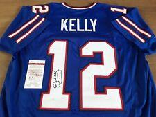 More details for buffalo bills hof - jim kelly #12 - autographed jersey signed nfl - jsa
