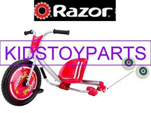 Razor RED FLASH Rip Rider Rear Wheels - 2 pack