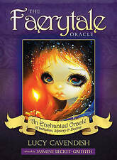 The Faerytale Oracle Deck & Book Set By Lucy Cavendish - FREE UK P&P
