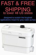 * SPEDIZIONE GRATUITA * Nuovo Original Equipment Manufacturer SANIFLO 008 Bianco Sanivite ACQUE GRIGIE-Heavy Duty-POMPA