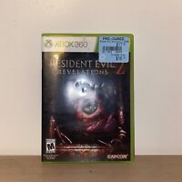 Resident Evil Revelations 2 (Microsoft Xbox 360, 2015) No Manual TESTED