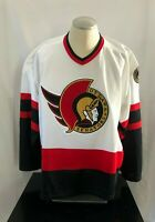 Vintage NHL Ottawa Senators Jersey Maska Ultrafil Sz XXL Embroidered Crest Patch