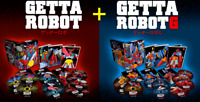 23 DVD X 2 Caja Getter Desechable + Desechable Robot G Serie Completa Ltd Nuevo