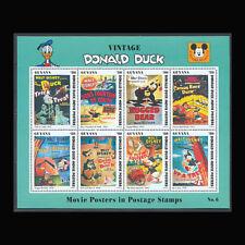 Guyana, Sc #2775, MNH, 1993, S/S, Disney, Vintage Donald Duck, FFID-9