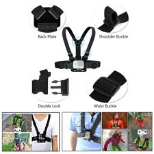Chest Strap Harness For GoPro Mount Support GoPro Hero Sport Action Camera Black