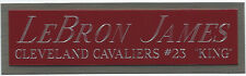 LEBRON JAMES CAVALIERS NAMEPLATE FOR YOUR AUTOGRAPHED Signed BASKETBALL JERSEY