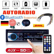Autoradio + Bluetooth Freisprecheinrichtung MP3 Player USB SD AUX-IN Auto NEU 01
