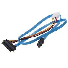 SATA 7 broches vers SAS 29 broches et 4 broches Cable de connecteur d'alim W7G2