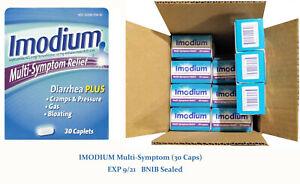 IMODIUM Multi-Symptom Relief (30 Caplets) EXP 9/21 - BNIB Sealed