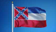 MISSISSIPPI STATE FLAG new superior 2x3ft size fade resist flag us seller
