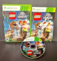 Lego Jurassic World  Microsoft Xbox 360 Rare Game Complete  Tested 1-2 Players