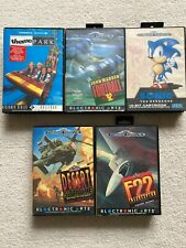 Sega Megadrive Lot of 5 PAL COMPLETE and tested working