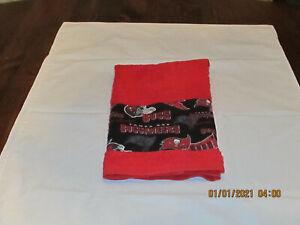 Handmade NFL Tampa Bay Buccaneers Red Hand Towels