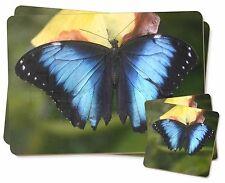 Butterflies Twin 2x Placemats+2x Coasters Set in Gift Box, I-BU10PC