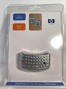 NEW HP iPAQ Micro Thumb Keyboard FA162A#AC3 for H4100 & H2200 Series Pocket PC