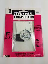#35 Vintage 1958 Adams Pranks Magic Trick Novelty Toy Fantastic Coin Pink
