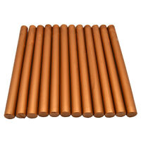 Copper Sealing Wax Sticks Flexible Glue Gun Wax for Wedding Invitation 10PCS