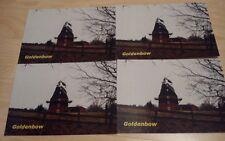 4x carte postale moulin à vent goldenbow (Mecklembourg)