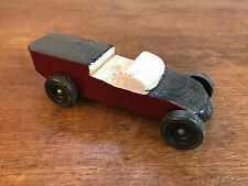 Pinewood Derby Race Car Vtg 1970s Folk Art Hand Made Cub Scouts BSA (HD10)