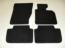 BMW X3 2004-11 Fully Tailored Deluxe Car Mats in Black.
