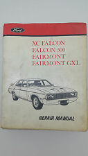 Ford XC Falcon 500 Fairmont GXL Sedan Factory Workshop Repair Manual FoMoCo